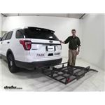 MaxxTow Hitch Cargo Carrier Review - 2016 Ford Explorer