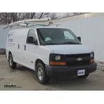 Michelin RainForce Wiper Blades Installation - 2006 Chevrolet Express Van