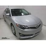 Michelin RainForce Wiper Blades Installation - 2014 Toyota Camry