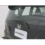 Michelin Rear Windshield Wiper Installation - 2011 Honda Fit