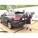 Michelin Rear Windshield Wiper Blade Installation - 2015 Jeep Grand Cherokee