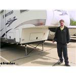 MORryde 5th Wheel Cross Brace Landing Gear Stabilizer Installation - 2007 Starcraft Homestead Lite F