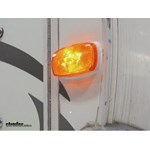 Optronics Rectangular Amber Trailer Clearance or Side Marker Light Review