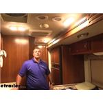 Optronics LED RV Interior Light Installation - 2007 Fleetwood Bounder Motorhome