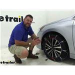 Pewag Servo RS Self-Tensioning Snow Tire Chains Installation - 2019 Subaru Legacy