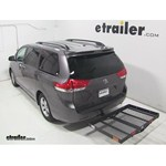Pro Series Solo Hitch Cargo Carrier Review - 2013 Toyota Sienna