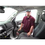 PTC Custom Fit Cabin Air Filter Installation - 2019 Toyota Sequoia