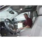 PTC Custom Fit Cabin Air Filter Installation - 2014 Toyota Highlander