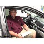 PTC Custom Fit Cabin Air Filter Installation - 2016 Toyota Highlander
