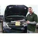 PTC Custom Fit Engine Air Filter Installation - 2017 Toyota Prius v