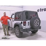 Rampage Towing Mirrors for Jeeps Installation - 2014 Jeep Wrangler