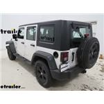 Rampage Euro Style Tail Light Guards Installation - 2009 Jeep Wrangler Unlimited