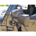 Rampage Custom Towing Mirrors Review - 2017 Jeep Wrangler Unlimited