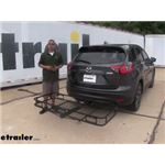 Reese 24x60 Hitch Cargo Carrier Review - 2016 Mazda CX-5