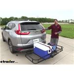 Reese 24x60 Hitch Cargo Carrier Review - 2018 Honda CR-V
