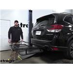 Reese 24x60 Hitch Cargo Carrier Review - 2020 Subaru Forester