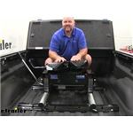 Reese Quick-Install 5th Wheel Base Rails Kit Installation - 2018 GMC Sierra 2500