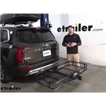 Reese 24x60 Hitch Cargo Carrier Review - 2020 Kia Telluride