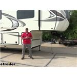 Reese Goose Box 5th-Wheel-to-Gooseneck Air Ride Coupler Adapter Installation - 2017 Jayco North Poin
