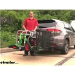 Reese Steel Solo Cargo Carrier and Folding Ramp Installation - 2018 Toyota Highlander