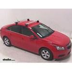 Rhino-Rack Aero Roof Rack Installation - 2014 Chevrolet Cruze