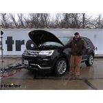 Roadmaster Automatic Battery Disconnect Installation - 2019 Ford Explorer