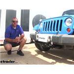 Roadmaster EZ4 Base Plate Kit Installation - 2011 Jeep Wrangler