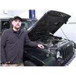 Roadmaster Battery Charge Line Kit Installation - 2010 Jeep Wrangler