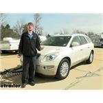 Roadmaster Even Brake Portable Braking System Installation - 2014 Buick Enclave