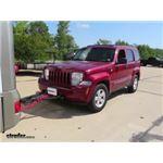 Roadmaster Even Brake Portable Braking System Installation - 2012 Jeep Liberty
