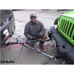 RoadMaster Falcon Tow Bar Installation - 2013 Jeep Wrangler