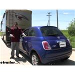 Roadmaster Tow Bar Wiring Kit Installation - 2012 Fiat 500