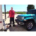 Roadmaster Nighthawk All Terrain Tow Bar Installation - 2020 Jeep Wrangler Unlimited