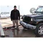Roadmaster Nighthawk All Terrain Tow Bar Installation - 2010 Jeep Wrangler