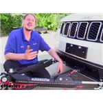 Roadmaster Nighthawk All Terrain Tow Bar Installation - 2017 Jeep Grand Cherokee
