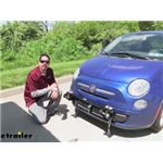 Roadmaster Quick Disconnect Tow Bar Base Assembly Installation - 2012 Fiat 500