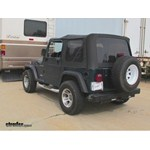 RoadMaster Falcon 2 Tow Bar Installation - 1998 Jeep Wrangler
