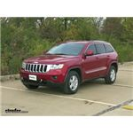 Roadmaster Car Side Tow Bar Quick Disconnects Installation - 2011 Jeep Grand Cherokee