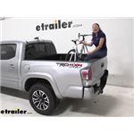 RockyMounts DriveShaft Track Truck Bed Bike Rack Review - 2020 Toyota Tacoma