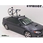 RockyMounts TieRod Roof Bike Rack Review - 2008 Subaru Legacy