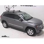 RockyMounts TieRod Roof Bike Rack Review - 2012 Jeep Grand Cherokee