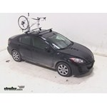 RockyMounts TieRod Roof Bike Rack Review - 2013 Mazda 3