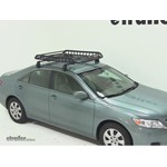 Rola Roof Cargo Basket Installation - 2011 Toyota Camry