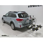 Saris Freedom Hitch Bike Racks Review - 2013 Subaru Outback Wagon