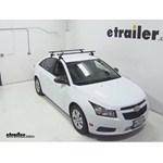 SportRack Semi-Custom Roof Rack Review - 2013 Chevrolet Cruze