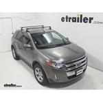 SportRack Semi-Custom Roof Rack Review - 2013 Ford Edge