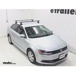 SportRack Semi-Custom Roof Rack Review- 2013 Volkswagen Jetta