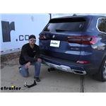 Stealth Hitches Hidden Trailer Hitch Installation - 2020 BMW X5