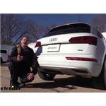 Stealth Hitches Hidden Rack Installation - 2020 Audi Q5