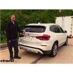Stealth Hitches Hidden Rack Receiver Installation - 2019 BMW X3